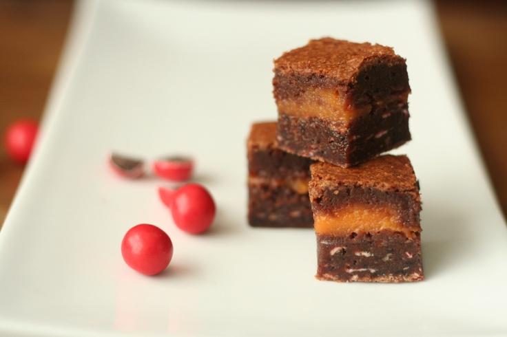Jaffa Fudge Brownies!