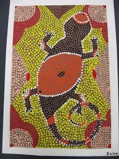 Artolazzi: Aboriginal Lizards: a study of Georges Seurat