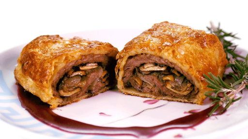 """Learn how to make the delicious mini beef wellingtons that Clinton Kelly prepared on """"The Chew"""" on Wednesday, December 3rd with videos from the show."""
