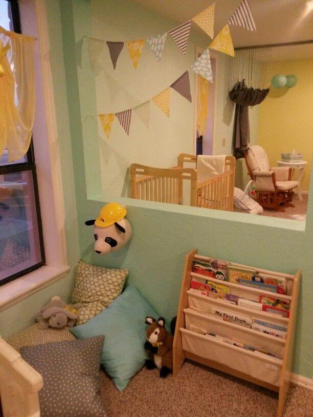 Church nursery reading corner