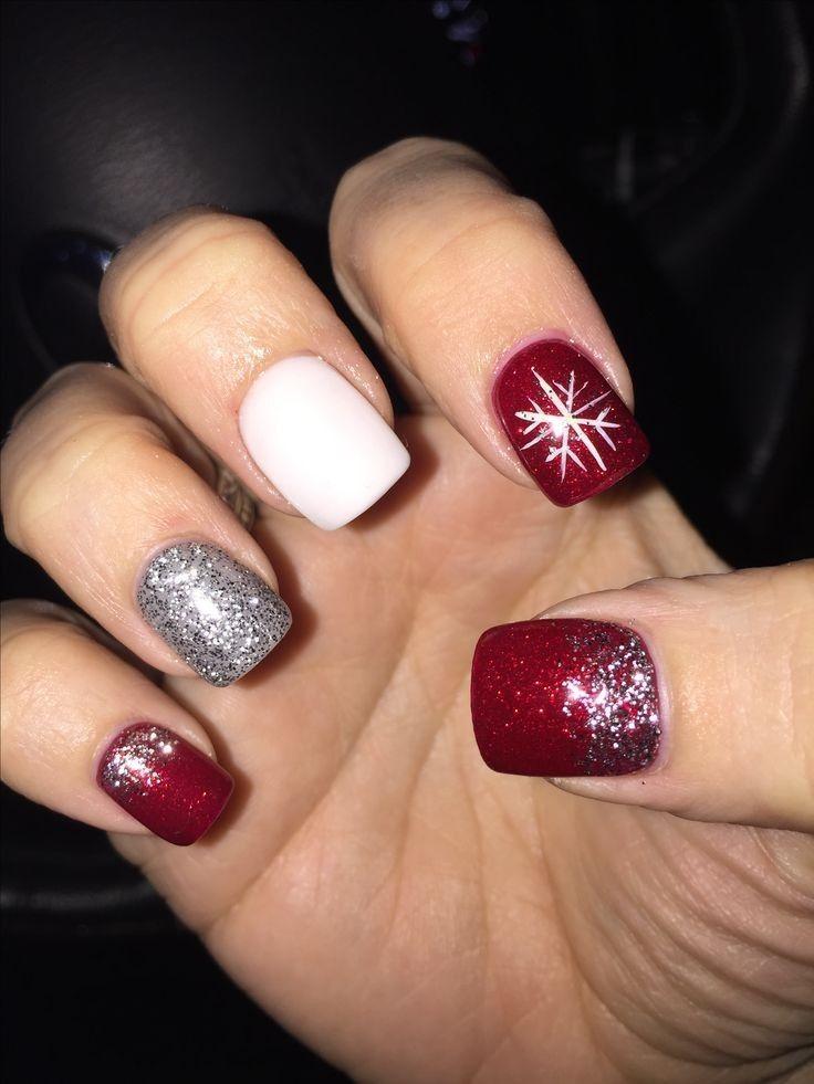 100 Perfect Winter Nails For The Holiday Season Holiday Nails