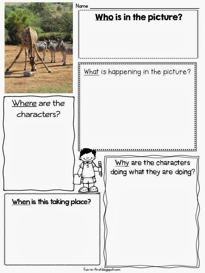Opinion Writing   First Grade Centers and More   FirstGradeFaculty     Pinterest Why I Like Fridays Writing Prompt   Free Printable Worksheets for K      First  Grade