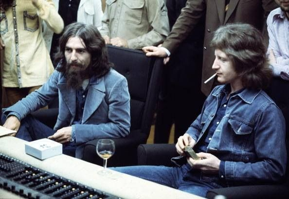 GH and Pete Ham (Badfinger).