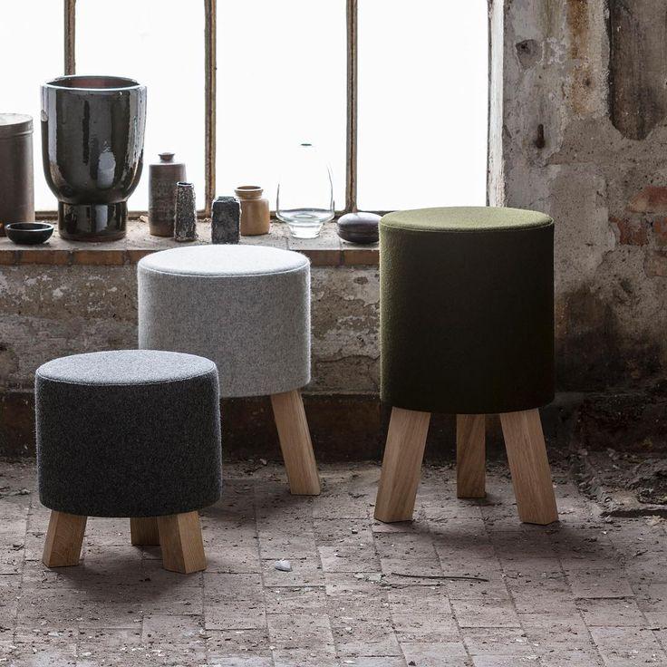 STOOLS designed by Anne Boysen #skammel #stool #interiordesign #interiordecor