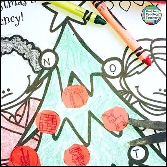 Christmas Tree Graphic Organizer: 418 Best Christmas Literacy Fun! Images On Pinterest