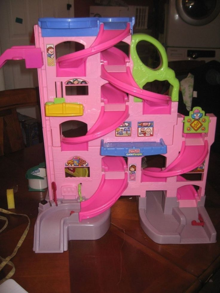 Fisher Price Pink Car
