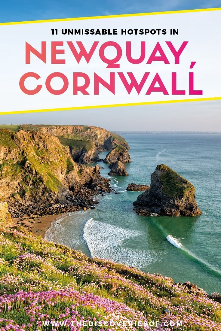 Cornwall, England. 11 things to do in Newquay I Beach I Surfing I Travel I UK I Fistral #travel #traveldestinations #cornwall #england 1