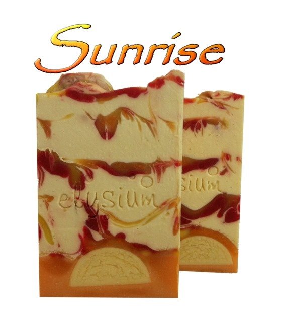 Sunrise Soap - I love this new design by Sonja