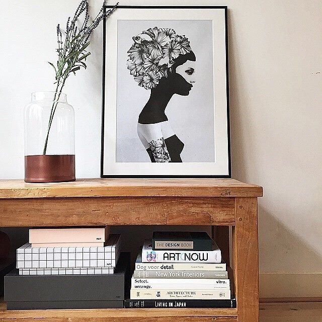 Living Room Decor Inspiration Marianna Art Print By Ruben Ireland Now On Juniqe