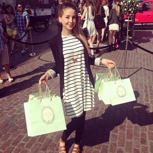 Zoe Sugg Swing Dress With Blazer Zoe Sugg Pinterest Swing Dress The O 39 Jays And Swings
