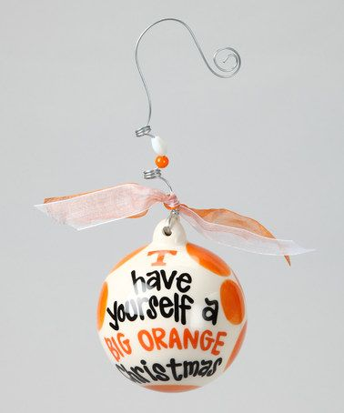 Take a look at this Tennessee Ball Ornament by Glory Haus on #zulily today!
