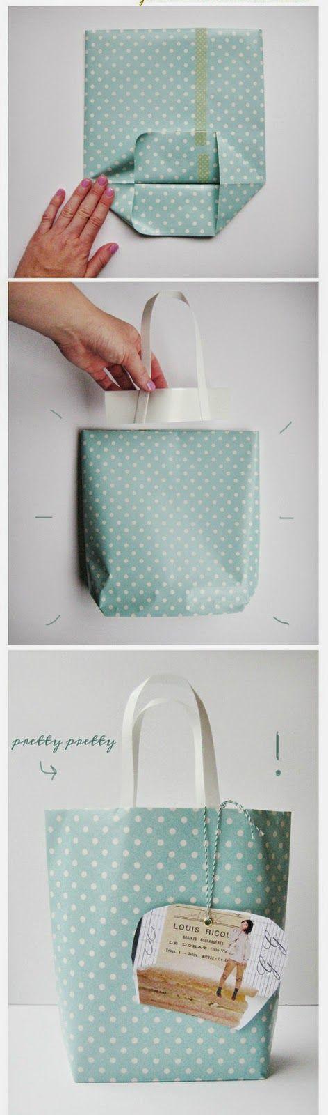 Relasé: Idee regalo: busta DIY da confezionare!