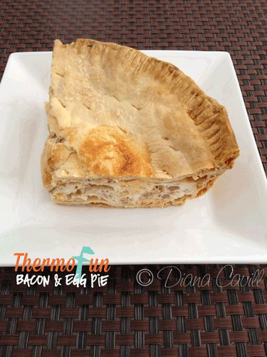 Egg and Bacon Pie Recipe