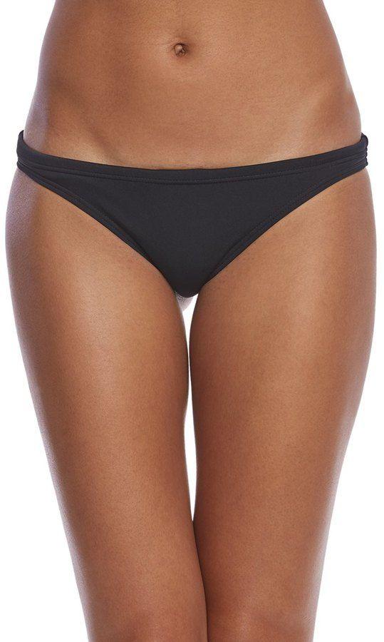 TYR Women's Solid Mini Bikini Bottom 8160680