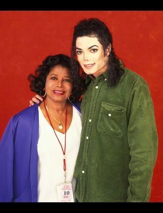 with Katherine Jackson