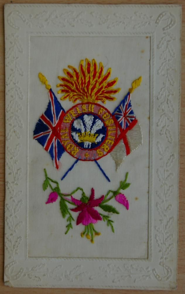 RWF Capbadge and Colours