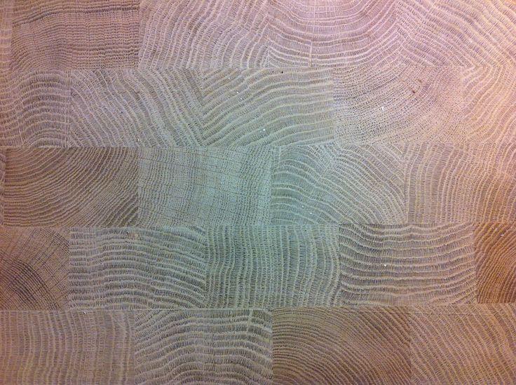 Parquet floor. Gagosian Gallery Viewing Room, Davies Street, London