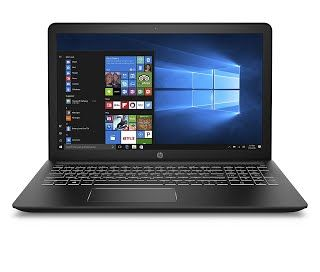 """Features & Benefits"" HP 15-cb071nr Pavilion 15.6"" Laptop, Intel Core i7-7700HQ, 12GB RAM, 1TB hard drive, AMD Radeon RX 550, Windows 10, Black"