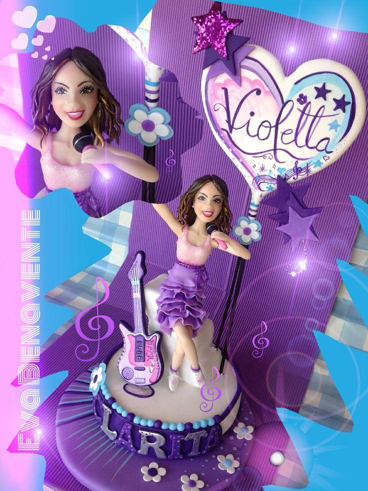 Top cake Violetta