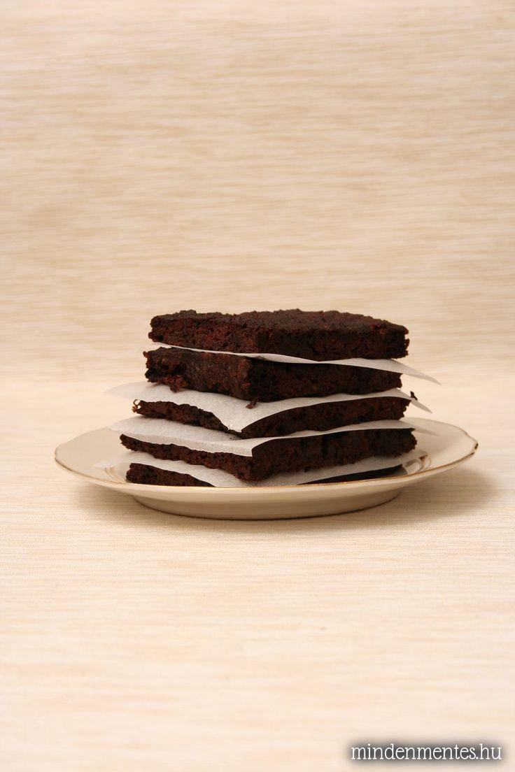Kókuszos brownie cukkínivel