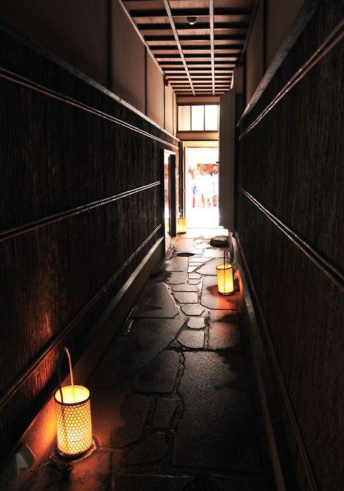 Back alley of Kyoto, Japan 祇園 京都