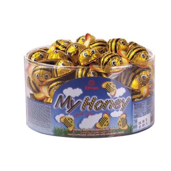 Arı Maya Fındık Krema Dolgulu Sütlü Kokolin Çikolata 100 Adet