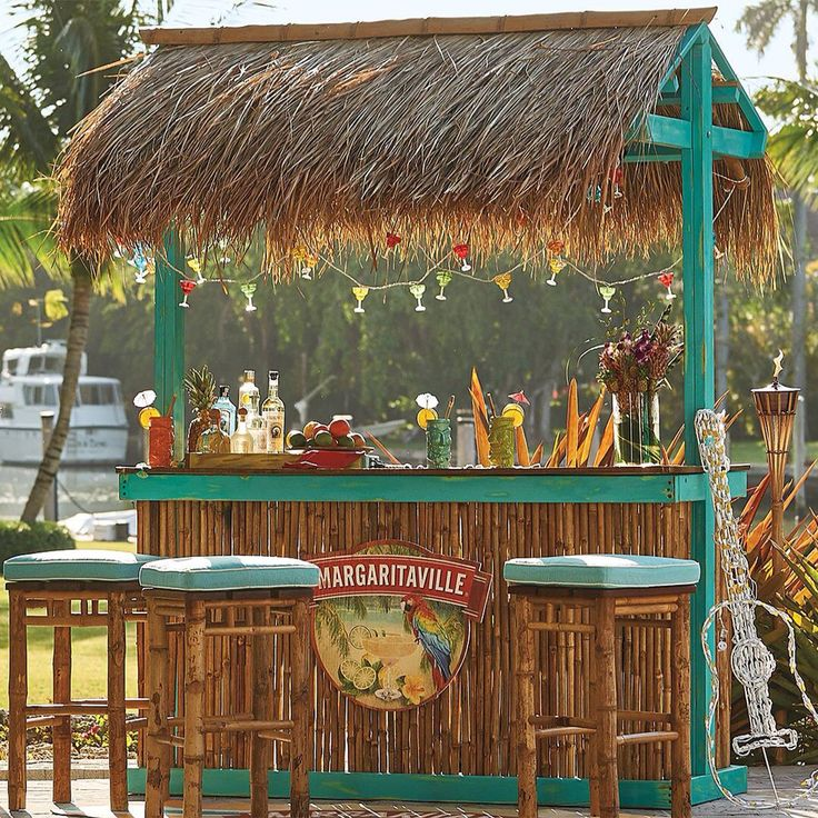 191 Best Images About Tiki Bar At The Pool On Pinterest