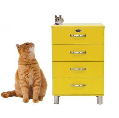 new wallsticker by www.studiobluebird.nl Cat and mouse