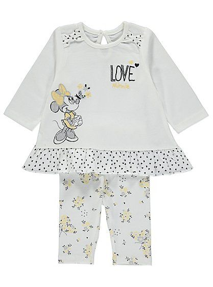Disney Minnie Mouse 2 Piece Outfit, read reviews and buy online at George at ASDA. Shop from our latest range in Baby. Dress your little Disney fan in the sw...