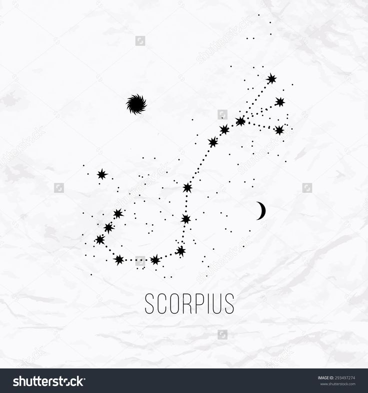 tattoo scorpion constellation - Google Search                                                                                                                                                                                 More
