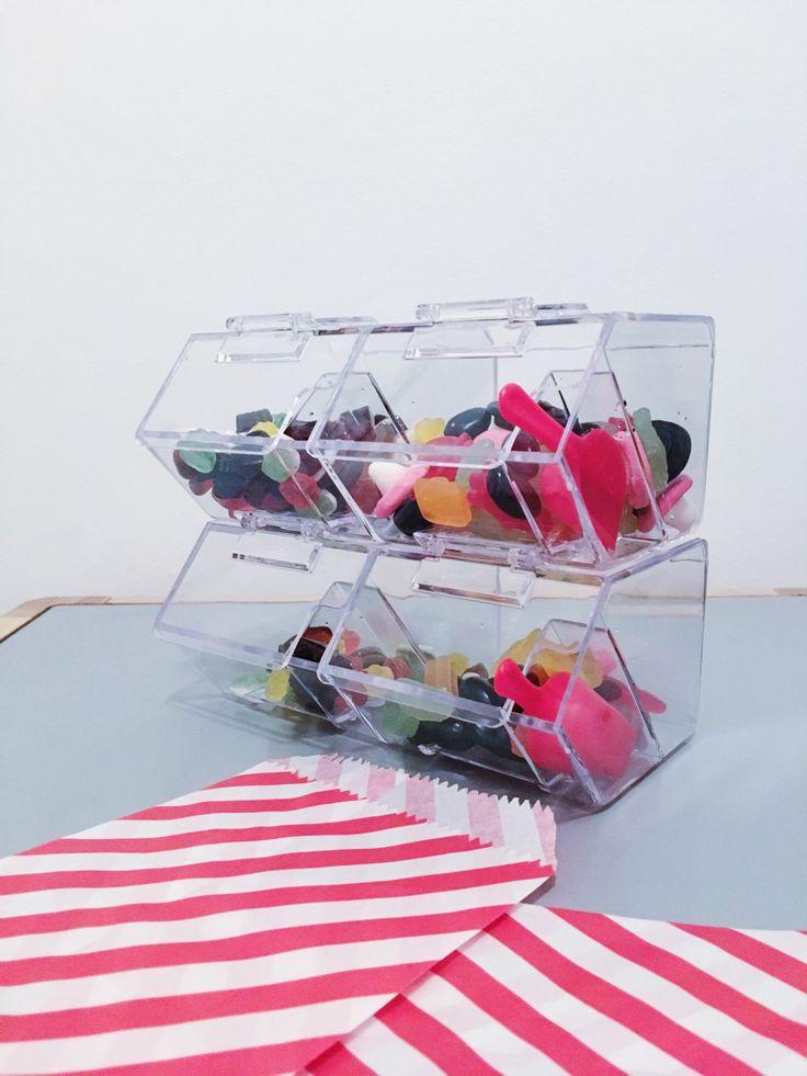 Candy buffet slikdispenser slikbutik