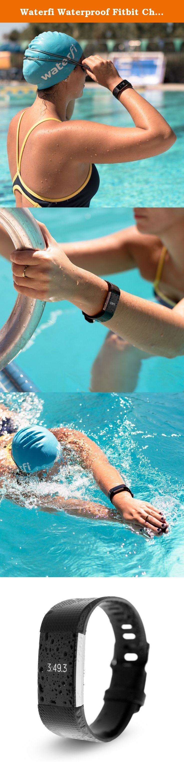 Waterfi Waterproof Fitbit Charge 2 - Silver/Black - Activity Tracker with Heart Rate Monitor (Large). WATERFI PLATINUMX WATERPROOFING Completely waterproof down to 30 feet underwater indefinitely, the Waterproofed Fitbit Charge 2 has been enhanced on the inside with our durable PlatinumX waterproofing process. Swim, surf and by all means sweat without any worries that your Waterproof Fitbit Charge 2 can keep up. Learn more about Our PlatinumX Waterproofing Process. SEE AND BE SEEN A…