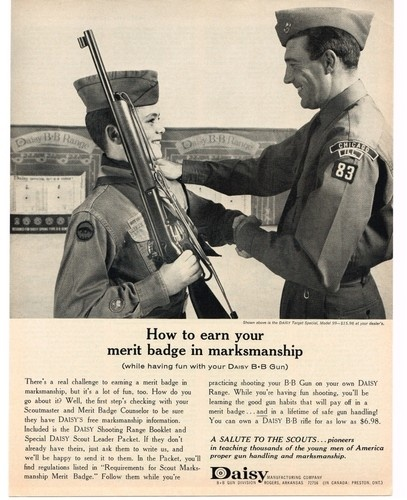 Boy scout air rifle