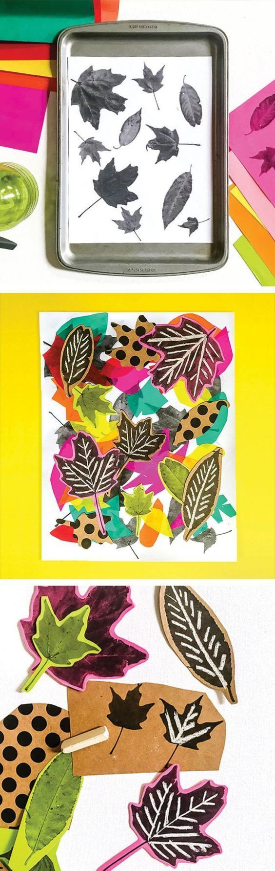 This leaf art collage craft is the perfect combination of fall fun and creative learning for kids!