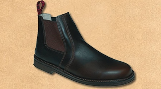 Style: Clifden Higher cut slip-on boot, hard wearing City sole & leather lined back. Sizes: 7 - 13 UK Colours: Cabana only, L94 last, City Sole