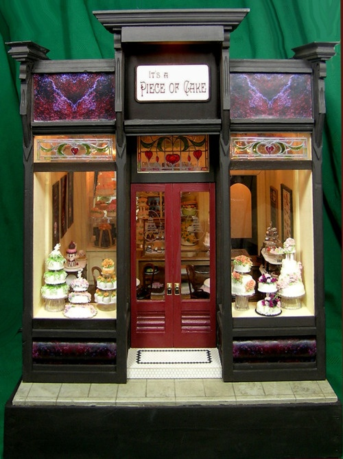 …a beautiful cake shop…