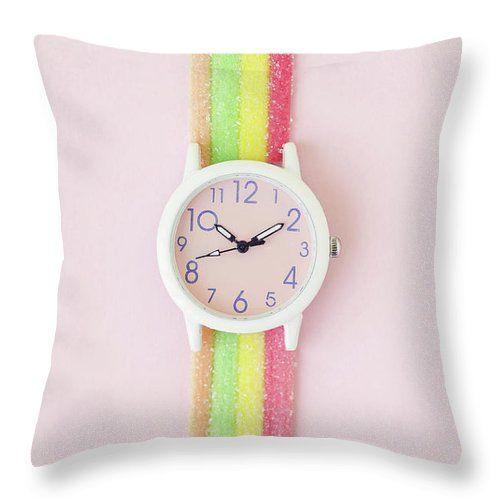 Sweet Wristwatch Throw Pillow For Sale By Lilach Uzan Toft Pillow Sale Throw Pillows Creative Home Decor
