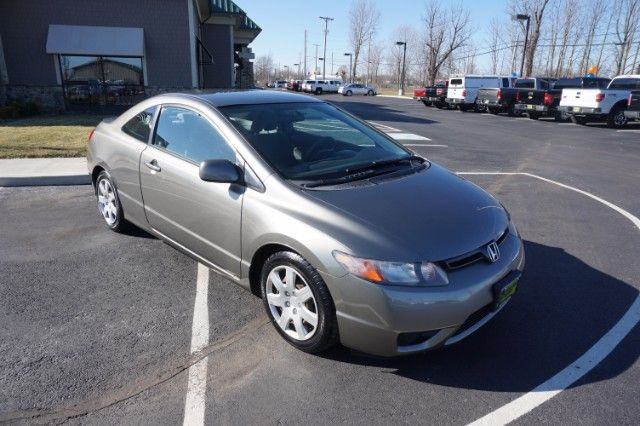 Used 2007 Honda Civic LX coupe for Sale in Marysville OH 43040 North Main Motors