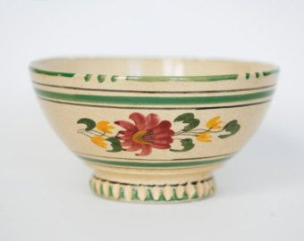 Cafe Au Lait Bowl Vintage French Decor French Coffee Bowl French Provincial Kitchen