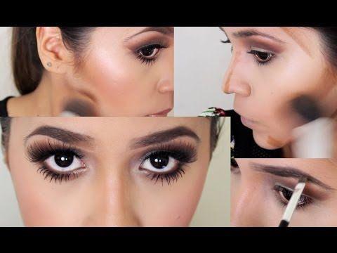 Como Maquillarse Como Kim Kardashian / Kim Kardashian Makeup Inspired - Ydelays - YouTube