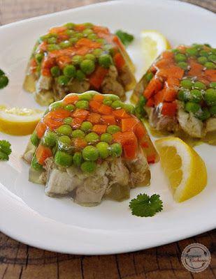 Mój zbiór przepisów kulinarnych-  wyszukane w sieci: Galaretki drobiowe (tymbaliki)