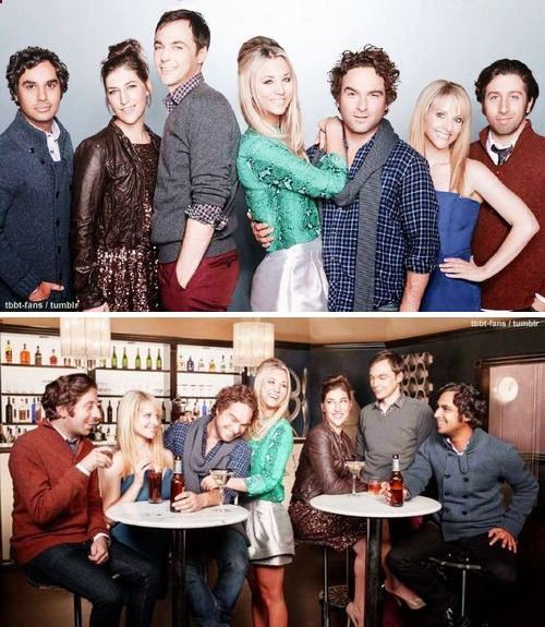 Big Bang Theory- fallen in love with this show!