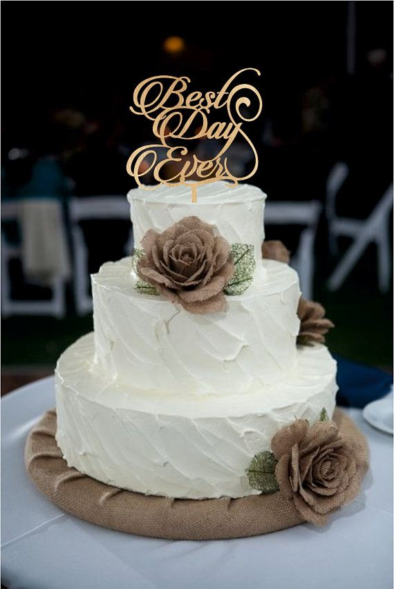 Always And Forever Wedding Cake Toppers
