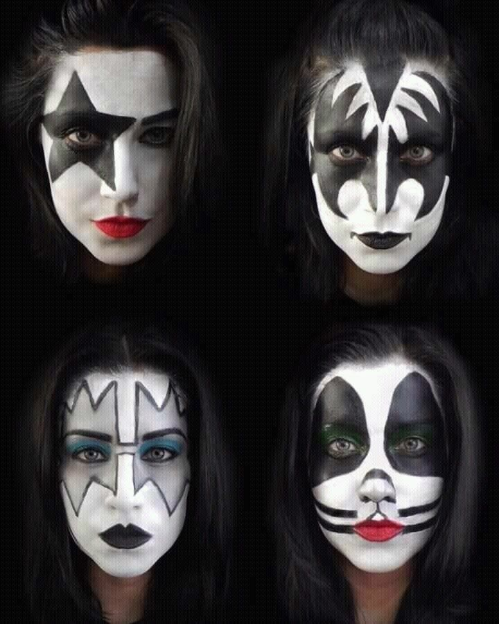 Kiss And Make Up: 1462 Best Girls In KISS Makeup Images On Pinterest