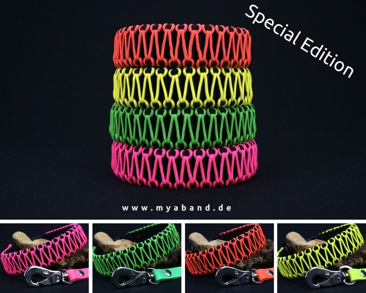 "a-band - Limited Edition ""Hell"" in Neon und Schwarz!"
