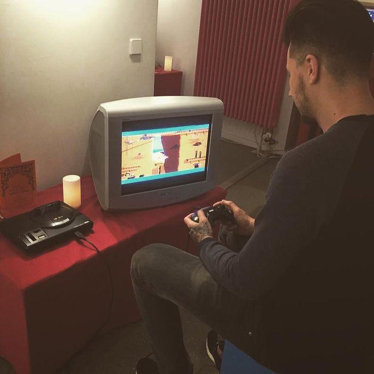 On instagram by paulphelan #retrogaming #microhobbit (o) http://ift.tt/1ZTPA6v mega drive retro gaming. #gaming #megadrive #90s #aladin #disney #sega #segamegadrive #gamer  #doyouevengame #computermuseum