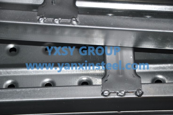 High quality Scaffold #SteelPlank,it opens the M18 bolt hole, for the board and board connection, adjust the width of the bottom of the platform. http://www.yanxinsteel.com/scaffold-steel-plank/