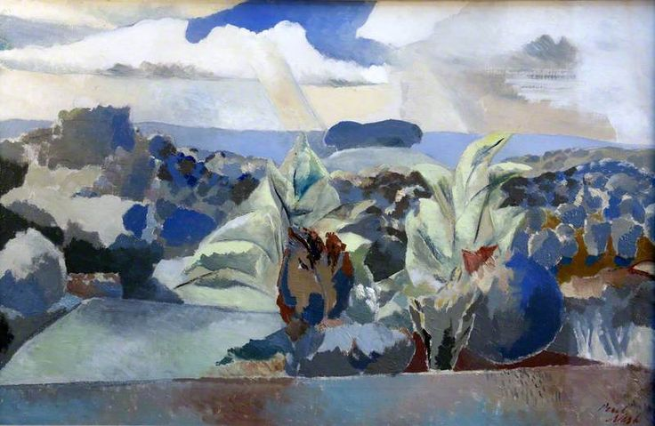 Landscape of the Bagley Woods (1943) by Paul Nash
