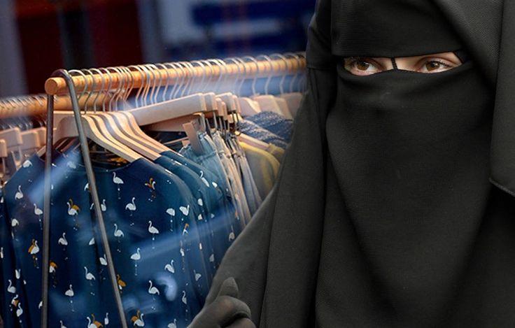 Nach sexy Dessous-Attacke: Ladenbesitzer räumt auf Nikab-Angreiferin schweigt