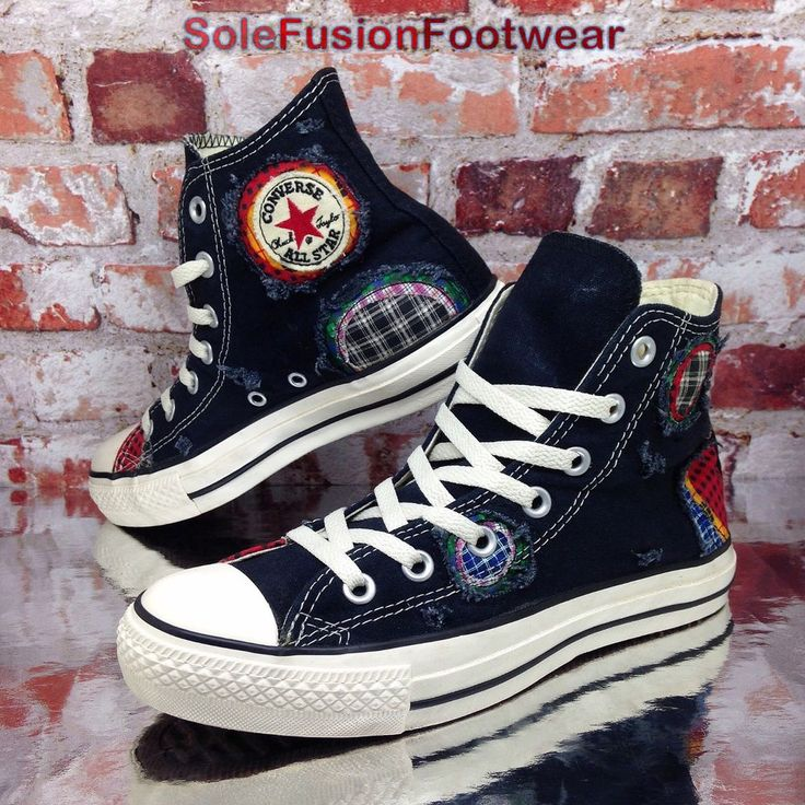 GOURGEOUS UNISEX BLACK LEATHER ALL STAR CONVERSE SNEAKERS SIZE UK 5 W 7 EU 37.5